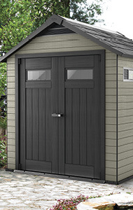 Garden sheds and cabinets